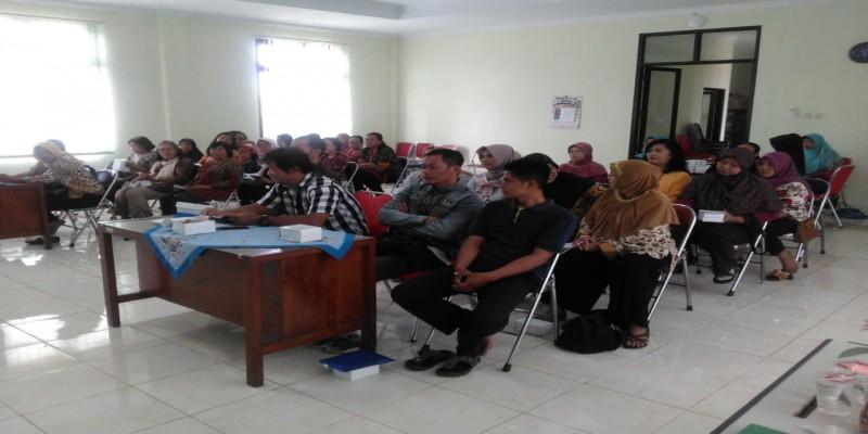 Rapat Koordinasi Pembentukan Kelompok Gandeng-gendong Kelurahan Baciro, Rabu, 30-01-2019