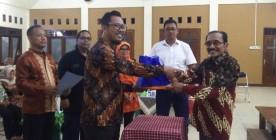 SERAH TERIMA PENGURUS PWKG, Bapak Andy Prabowo, ST, Nahkoda PWKG Periode 2020-2022