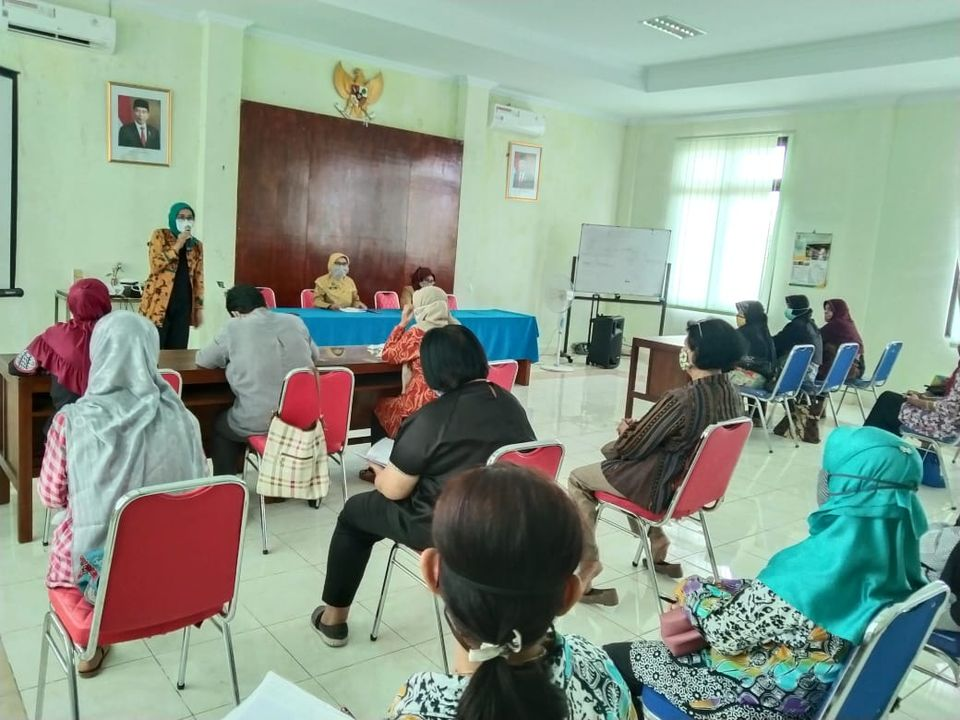 Pertemuan Kader KB se-Kelurahan Baciro