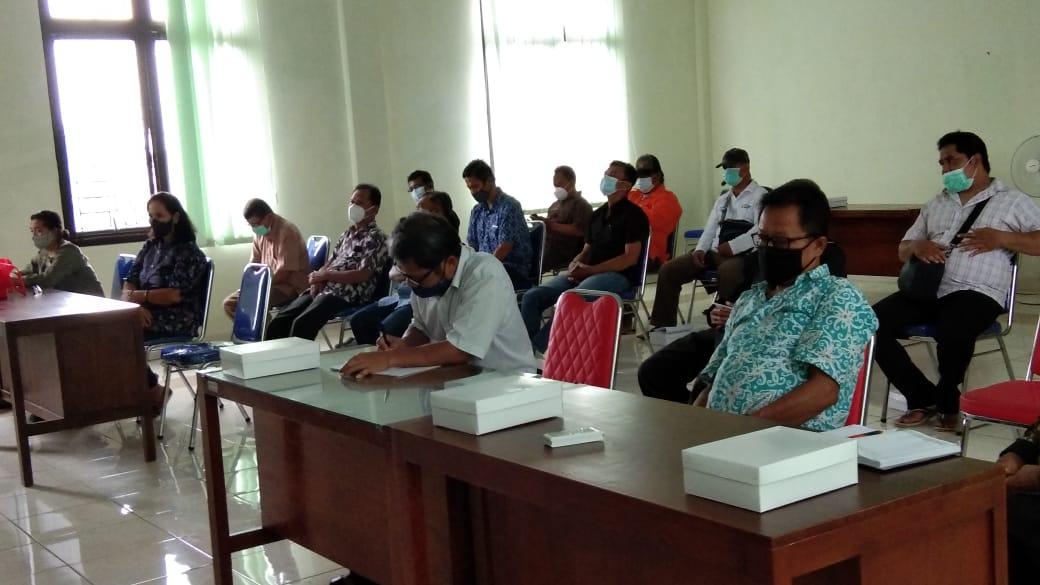 Pergantian Antar Waktu Pengurus Kampung Gendeng Kelurahan Baciro masa bakti 2018 - 2023