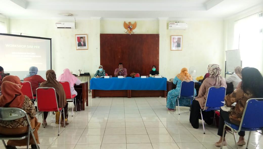 Workshop SIM PKK Kelurahan Baciro.
