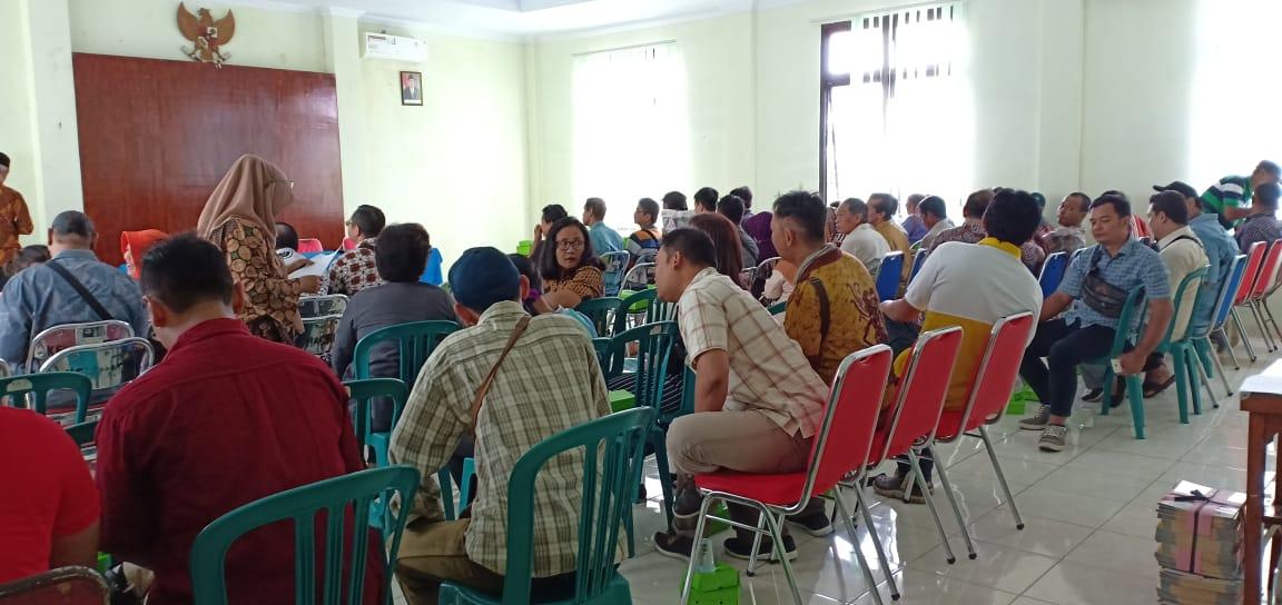 Bimbingan Teknis (Bimtek) bagi KPPS Kelurahan Baciro, Rabu, 03-04-2019
